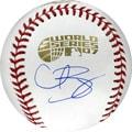 MLB Curt Schilling Hand-signed 2007 World Series Baseball