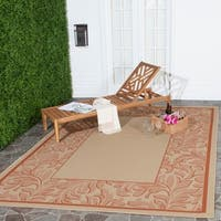 Safavieh Paradise Natural/ Terracotta Indoor/ Outdoor Rug - 8' X 11'