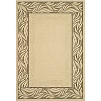 Safavieh Courtyard Natural/ Brown Indoor/ Outdoor Rug (5'3 x 7'7) - 5'3 x 7'7
