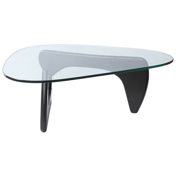 Tribeca Triangle Coffee Table   Free Shipping Today   Overstock.com    12661757