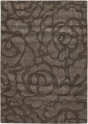 Artist's Loom Hand-tufted Transitional Floral Rug (5' x 7'6) - Thumbnail 1