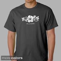 Los Angeles Pop Art Men's Aloha T-shirt