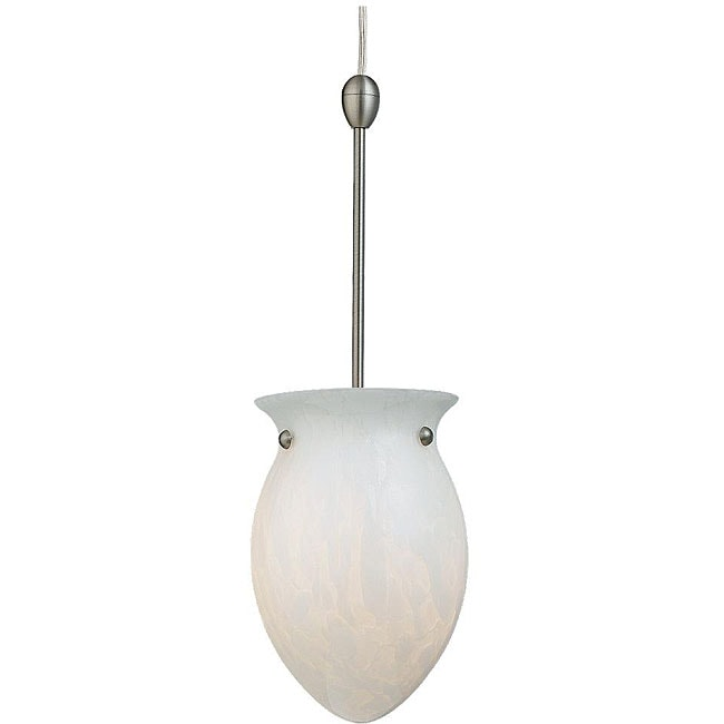Carlisle Fluorescent Antique Brushed Nickel Pendant