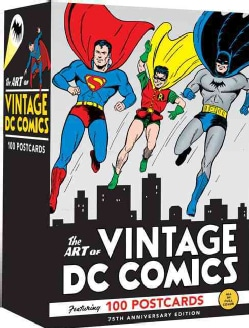 The Art of Vintage Dc Comics: 100 Postcards (Postcard book or pack)
