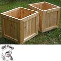 Phat Tommy Red Cedar Planter Box (Set of 2)