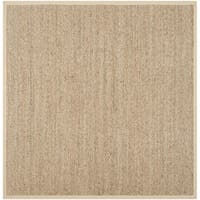 Safavieh Casual Natural Fiber Natural / Beige Seagrass Rug - 6' X 6' Square