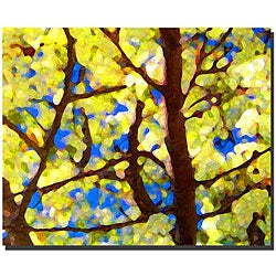 Amy Vangsgard 'Spring Tree' Gallery-wrapped Canvas Art