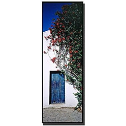 Preston 'Spanish Door' Gallery-wrapped Canvas Art