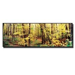 Preston 'The Trees' Gallery-wrapped Canvas Art - Thumbnail 1