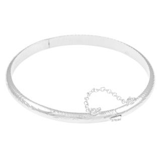 Sterling Silver 7-inch Adult and 6-inch Child Bangles (5mm)