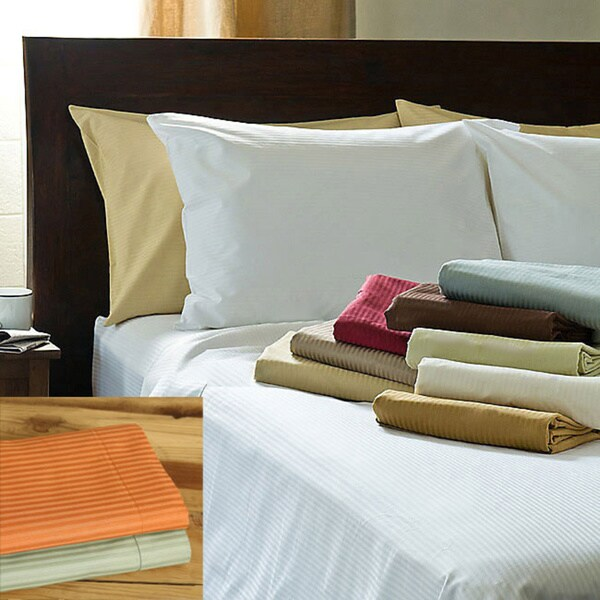 Renaissance Reversible 600 Thread Count Cotton 3-piece Duvet Cover Set