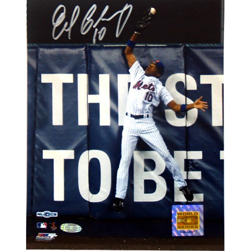 New York Mets Endy Chavez Game 7 Robbing Home Run 8x10 Photo