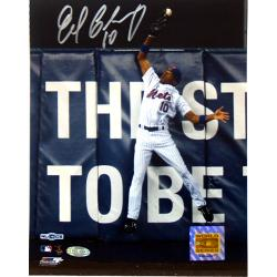 New York Mets Endy Chavez Game 7 Robbing Home Run 8x10 Photo - Thumbnail 0