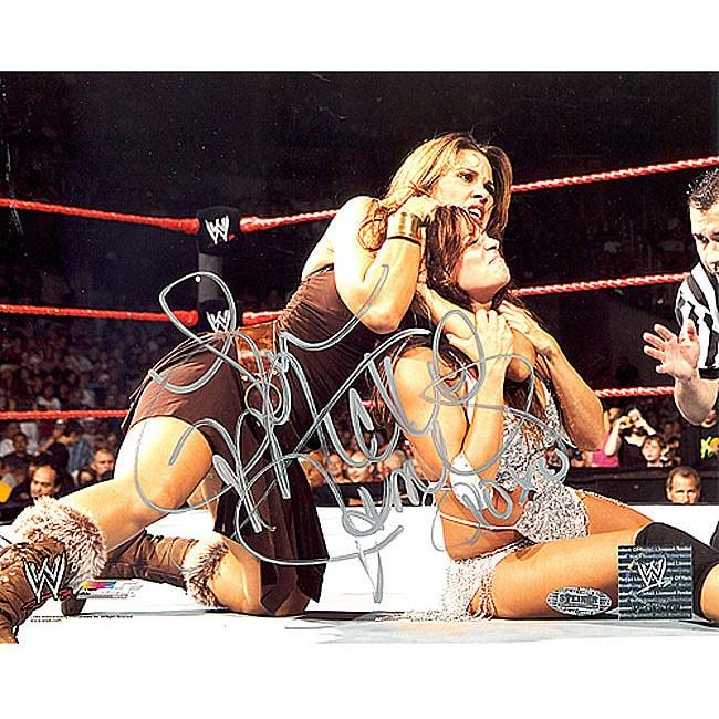 Mickie James WWE Action 8x10 Photo
