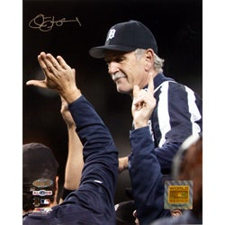 Detroit Tigers Jim Leyland '2006 ALDS Celebration' 8x10 Photograph