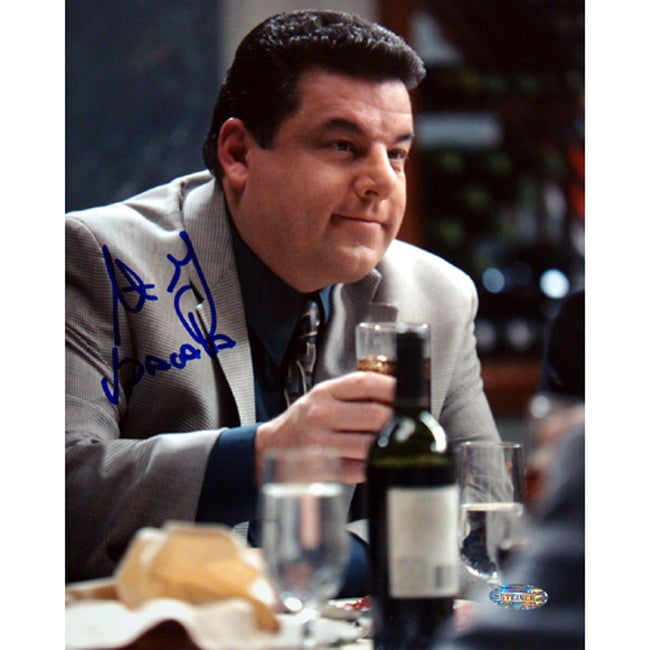 Steve Schirripa At Dinner Table 8 x 10 Signed Photograph