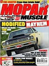 Mopar Muscle, 12 issues for 1 year(s)