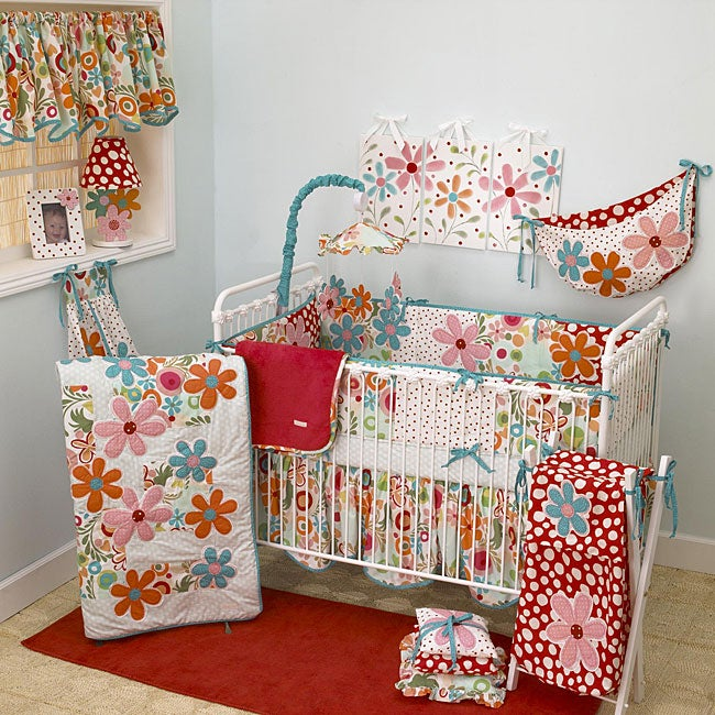 Cotton Tale Lizzie 8 Piece Crib Bedding Set