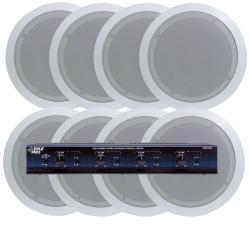 Pyle 4-room In-ceiling Speaker System