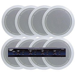 Pyle 4-room In-ceiling Speaker System