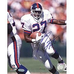 Rodney Hampton Rushing NFL 8x10 Signed Photograph - Thumbnail 0