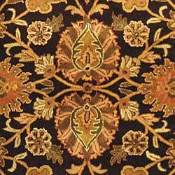 Safavieh Handmade Classic Regal Dark Plum/ Gold Wool Rug (8'3 x 11') - Thumbnail 2