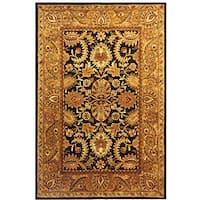 "Safavieh Handmade Classic Regal Dark Plum/ Gold Wool Rug - 8'3"" x 11'"