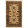 Safavieh Handmade Classic Jaipur Ivory/ Red Wool Rug - 6' x 9'