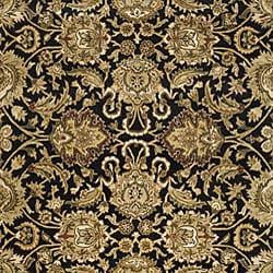 Safavieh Handmade Traditions Black/ Light Brown Wool Rug (5' x 8') - Thumbnail 2