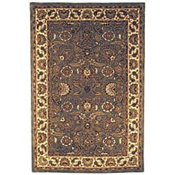 Safavieh Handmade Classic Heirloom Light Blue Wool Rug (9'6 x 13'6) - Thumbnail 1