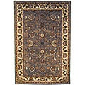 Safavieh Handmade Classic Heirloom Light Blue Wool Rug (7'6 x 9'6)