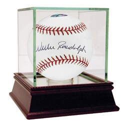 Willie Randolph Hand-signed MLB Baseball with 'Lets Go Mets' Inscription - Thumbnail 0