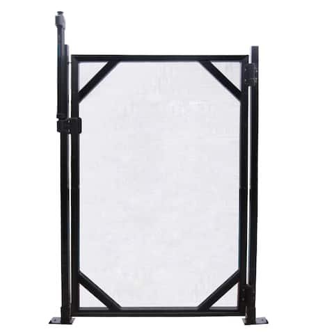 GLI 5-ft x 30-in Safety Fence Gate for In-Ground Pools