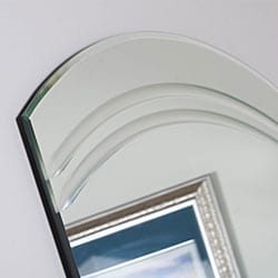 Angel Large Frameless Wall Mirror - Thumbnail 1
