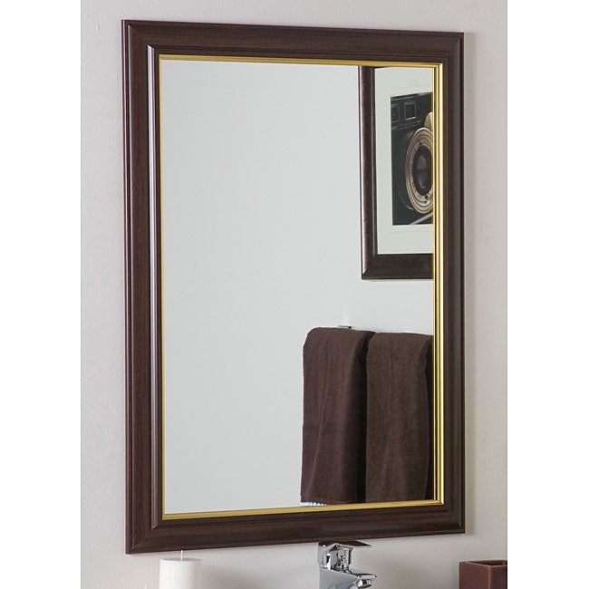 Milan Large Framed Wall Mirror