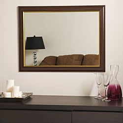 Milan Large Framed Wall Mirror - Thumbnail 2