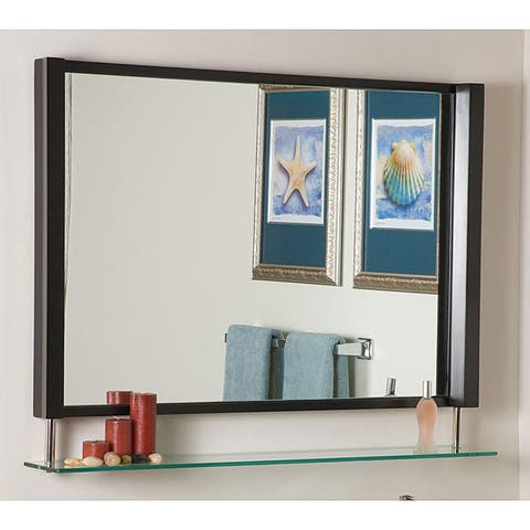 New Amsterdam Framed Wall Mirror - A/N