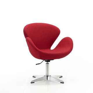 Raspberry Adjule Swivel Chair