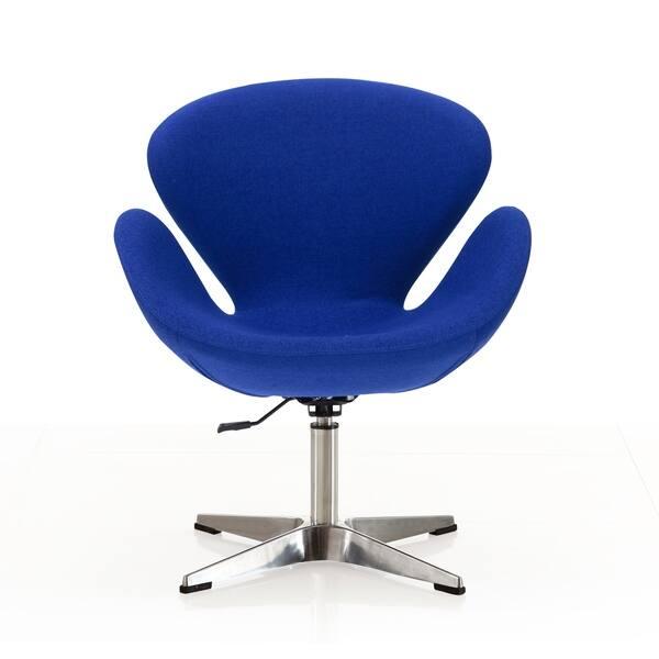 Brilliant Shop Raspberry Adjustable Swivel Chair Free Shipping Today Creativecarmelina Interior Chair Design Creativecarmelinacom