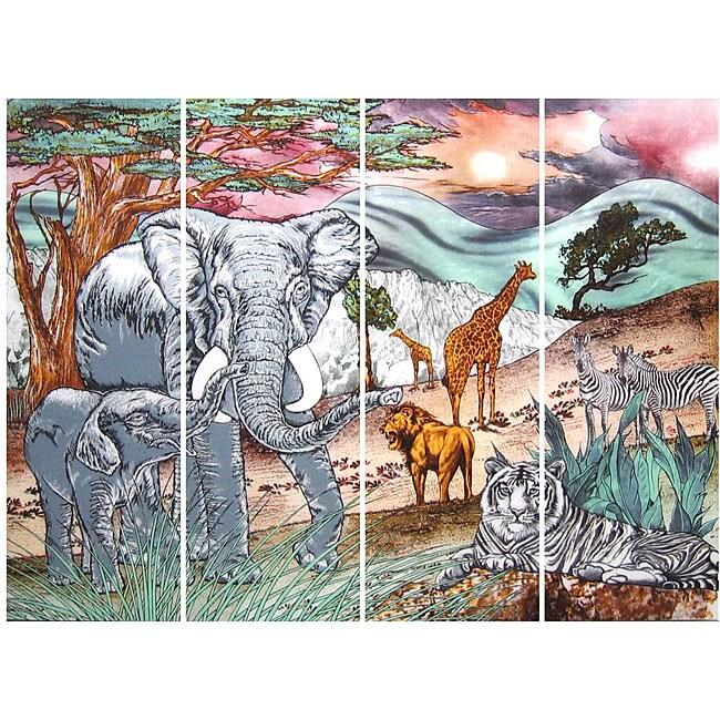 Elephant Wall Mirror