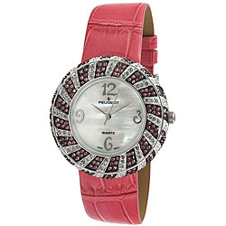 Peugeot Women's Pink Round Watch