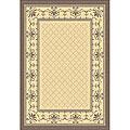 Safavieh Royal Natural/ Brown Indoor/ Outdoor Rug - 2'7 x 5'