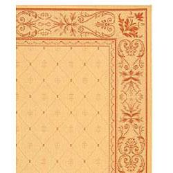 Safavieh Indoor/ Outdoor Summer Natural/ Terracotta Rug (7'10 x 11')