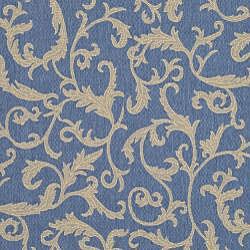 Safavieh Mayaguana Blue/ Natural Indoor/ Outdoor Rug (5'3 x 7'7)