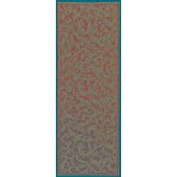 Safavieh Mayaguana Terracotta/ Natural Indoor/ Outdoor Runner (2'4 x 6'7) - Thumbnail 2