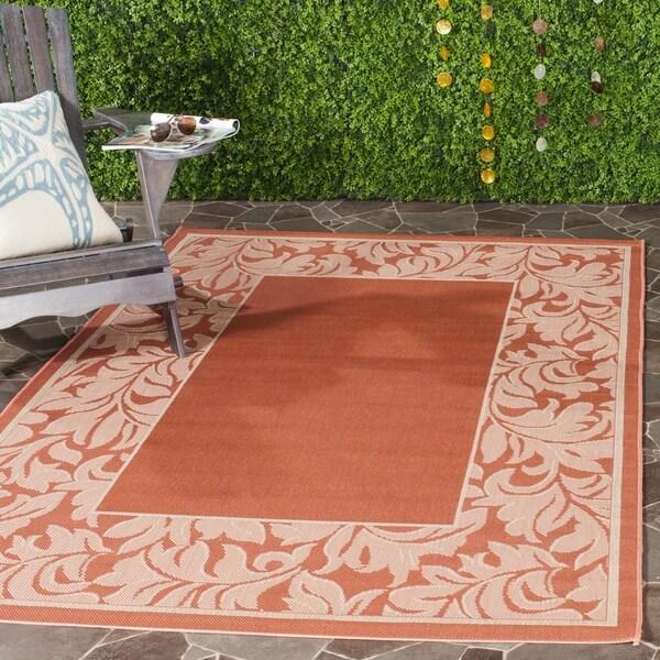 Safavieh Paradise Terracotta/ Natural Indoor/ Outdoor Rug - 8' x 11'