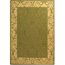 Safavieh Kaii Damask Olive Green/ Natural Indoor/ Outdoor Rug (9' x 12') https://ak1.ostkcdn.com/images/products/4765816/Indoor-Outdoor-Kaii-Olive-Natural-Rug-9-x-12-P12668346a.jpg?impolicy=medium