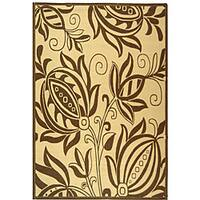Safavieh Andros Natural/ Brown Indoor/ Outdoor Rug - 9' x 12'