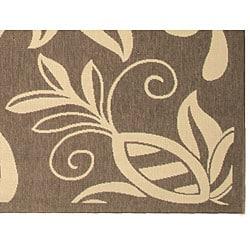 Safavieh Andros Brown/ Natural Indoor/ Outdoor Rug (2'7 x 5') - Thumbnail 1
