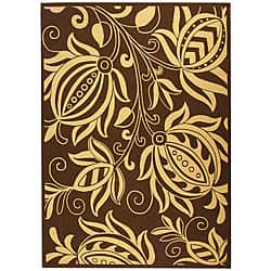 Safavieh Andros Chocolate/ Natural Indoor/ Outdoor Rug (9' x 12')|https://ak1.ostkcdn.com/images/products/4765860/Indoor-Outdoor-Andros-Chocolate-Natural-Rug-9-x-12-P12668390a.jpg?impolicy=medium
